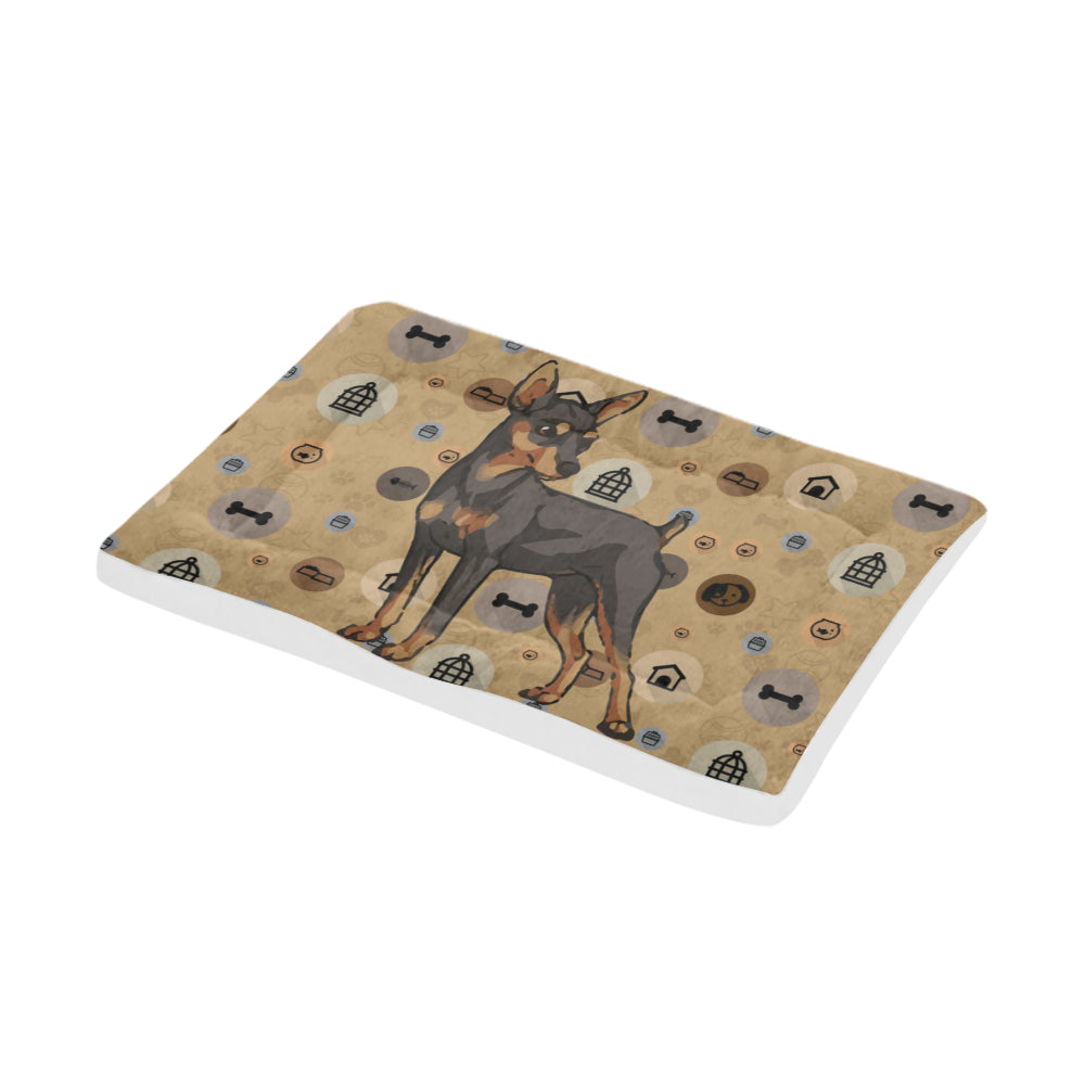 "Miniature Pinscher Dog Dog Beds 42""x26"" - TeeAmazing"