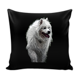 Samoyed Dog Pillow Cover - Samoyed Accessories - TeeAmazing - 1