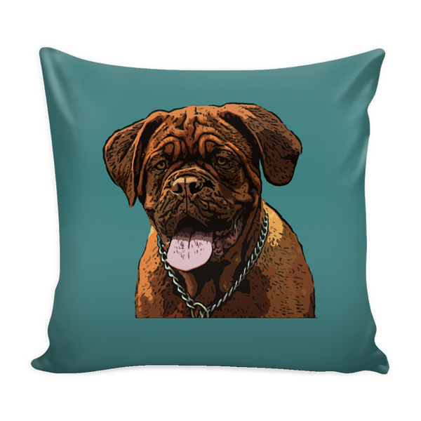 Dogues de Bordeaux Dog Pillow Cover - Dogues de Bordeaux Accessories - TeeAmazing - 3