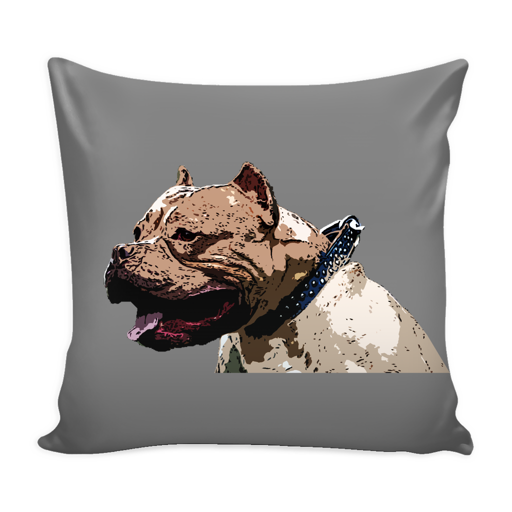Pitbull Dog Pillow Cover - Pitbull Accessories - TeeAmazing - 2