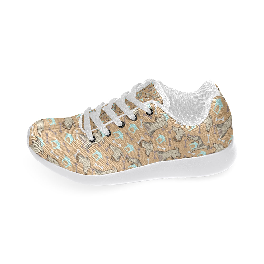 Whippet White Sneakers for Women - TeeAmazing