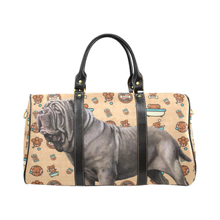 Neapolitan Mastiff Dog New Waterproof Travel Bag/Small - TeeAmazing