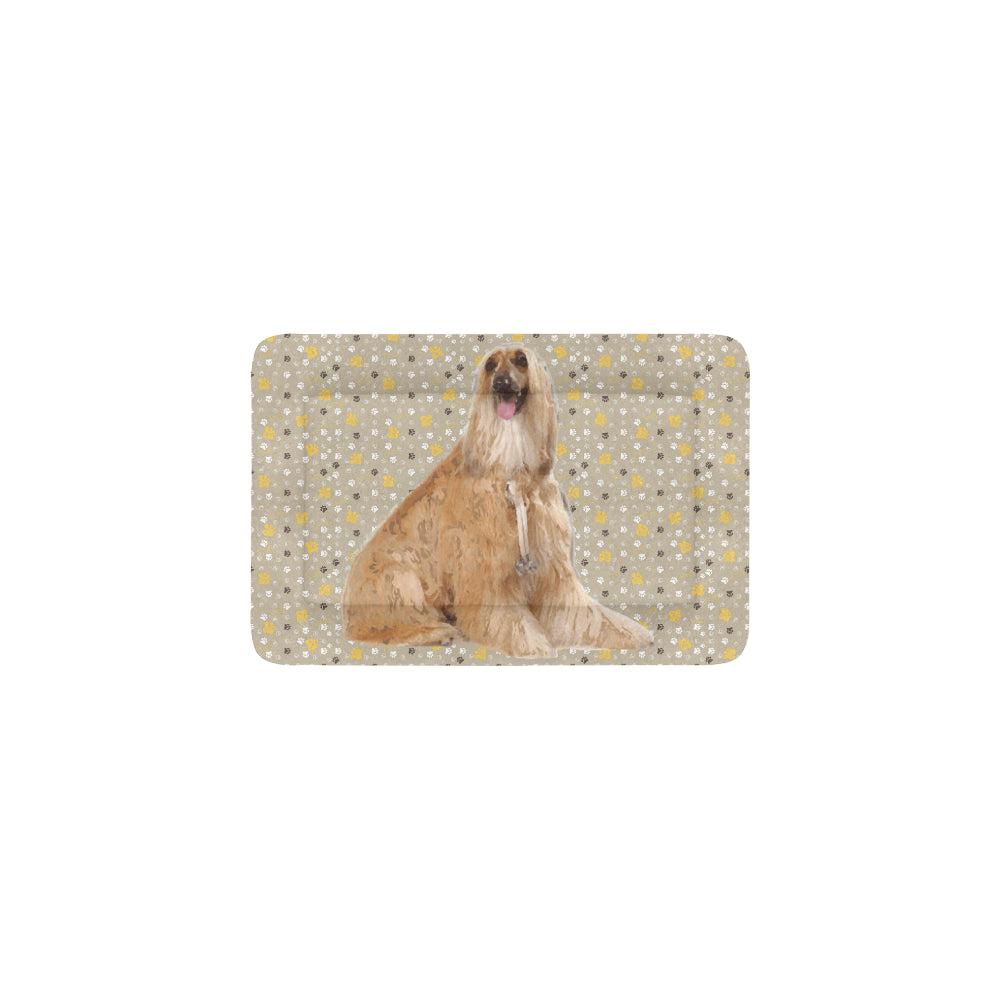 "Afghan Hound Dog Beds 18""x12"" - TeeAmazing"