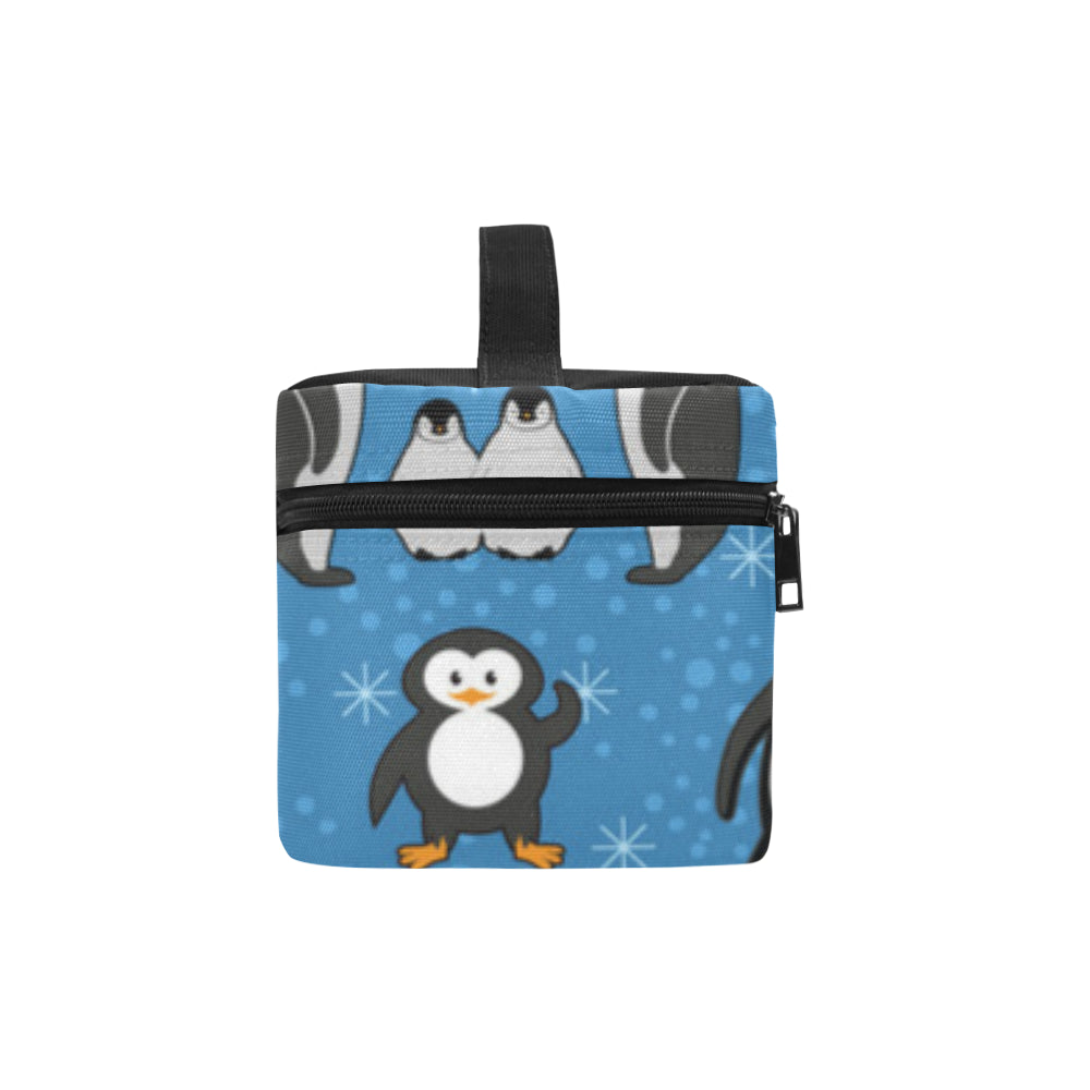 Penguin Cosmetic Bag/Large - TeeAmazing