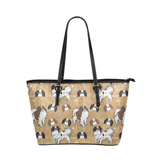 Japanese Chin Leather Tote Bag/Small - TeeAmazing