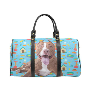 Pit bull New Waterproof Travel Bag/Small - TeeAmazing