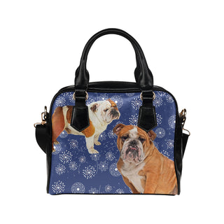 English Bulldog Lover Shoulder Handbag - TeeAmazing