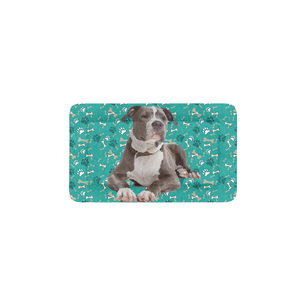 "Staffordshire Bull Terrier Dog Beds 22""x13"" - TeeAmazing"