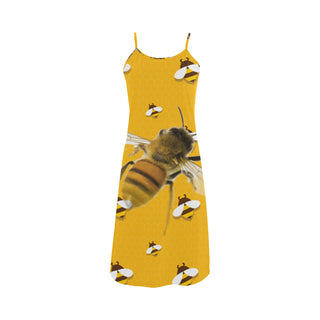 Bee Lover Alcestis Slip Dress - TeeAmazing