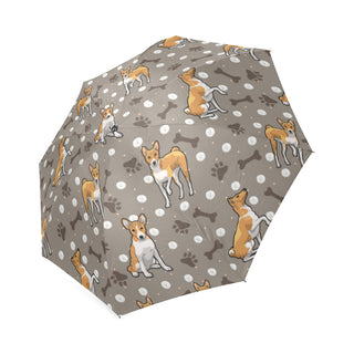 Basenji Foldable Umbrella - TeeAmazing