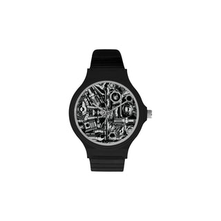 Biker Engine Unisex Round Plastic Watch - TeeAmazing