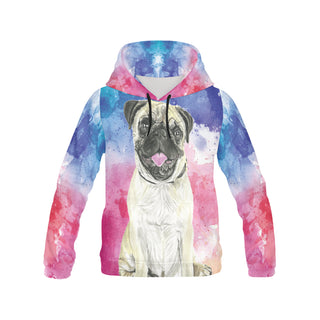 Pug Water Colour No.1 All Over Print Hoodie for Women - TeeAmazing