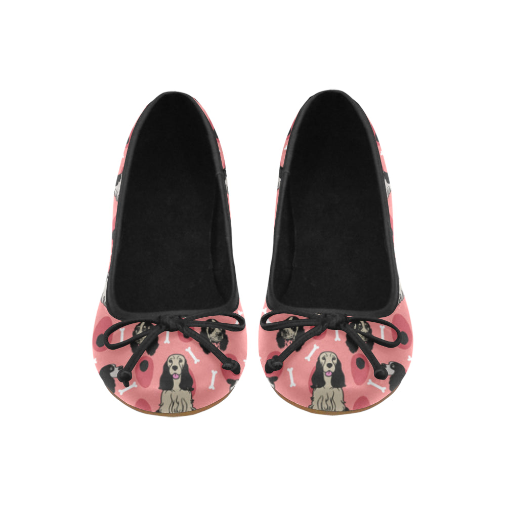 English Springer Spaniels Juno Ballet Pumps - TeeAmazing