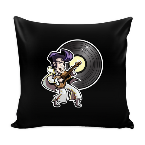 The King of Rock 'n' Roll Pillow Cover Accessories - TeeAmazing - 1