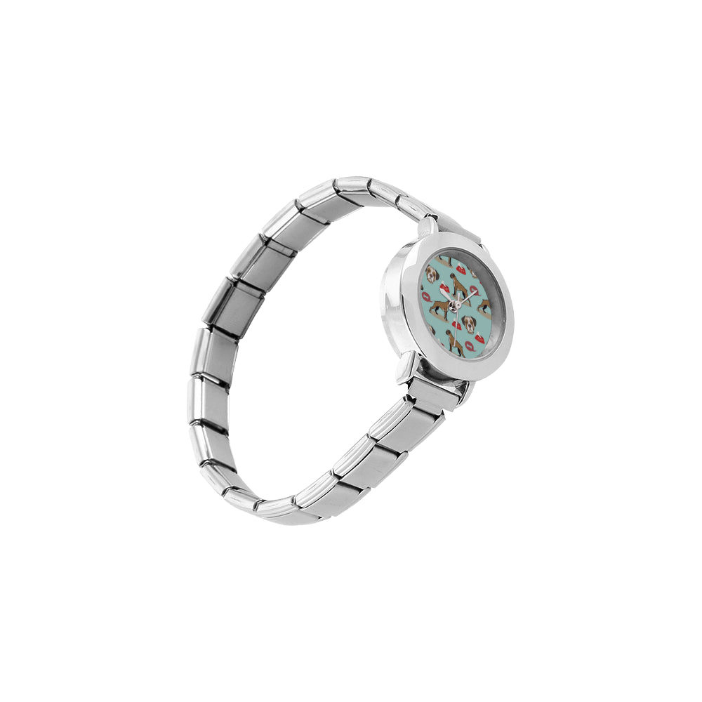 Boxer Pattern Women's Italian Charm Watch - TeeAmazing