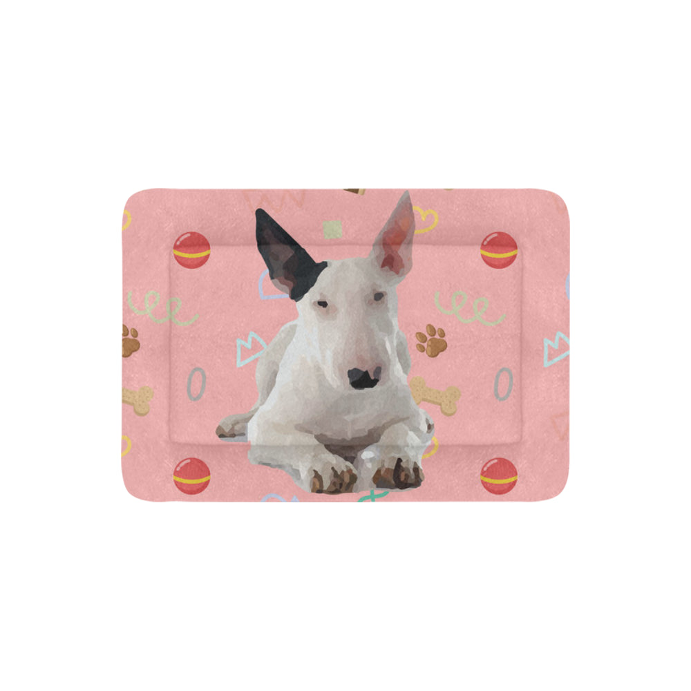 "Bull Terrier Dog Pet Beds 30""x21"" - TeeAmazing"