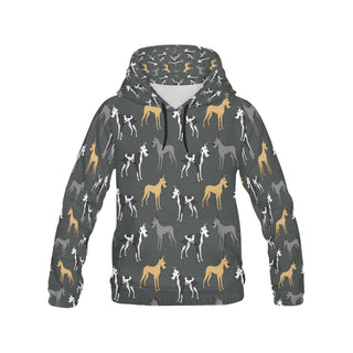 Great Dane All Over Print Hoodie for Men (USA Size) (Model H13) - TeeAmazing