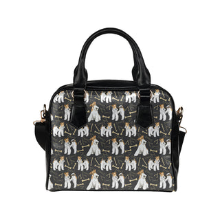 Wire Hair Fox Terrier Shoulder Handbag - TeeAmazing