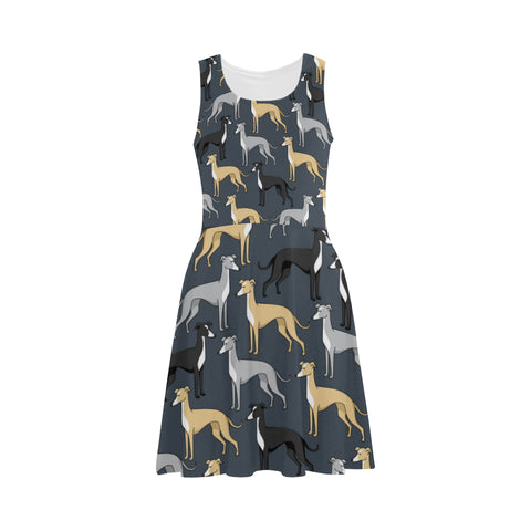 Greyhound Atalanta Sundress (Model D04) - TeeAmazing