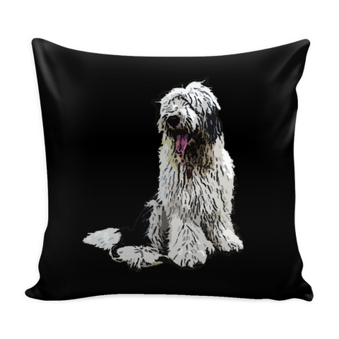 Old English Sheepdog Dog Pillow Cover - Old English Sheepdog Accessories - TeeAmazing - 1