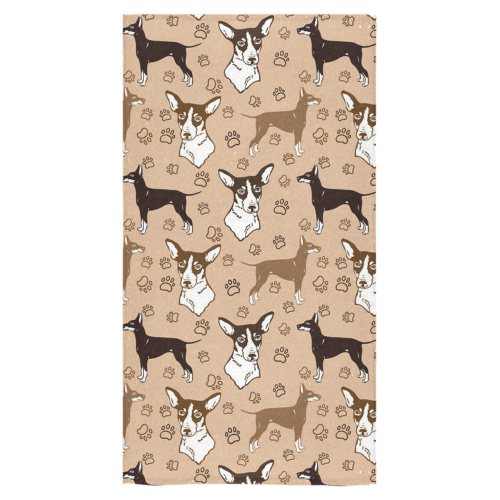 "Manchester Terrier Bath Towel 30""x56"" - TeeAmazing"