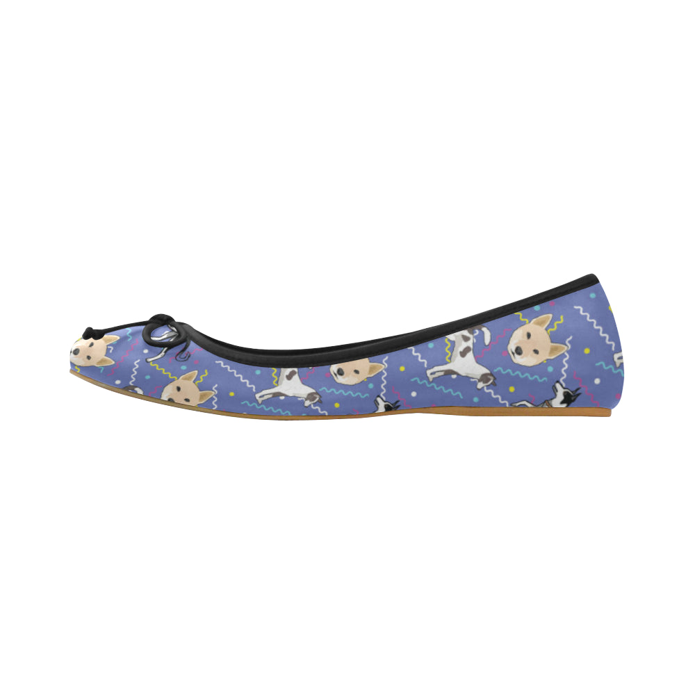 Canaan Dog Juno Ballet Pumps - TeeAmazing