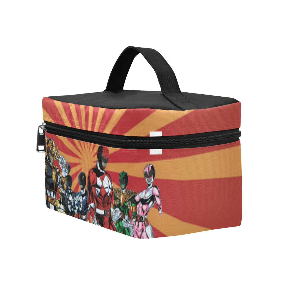 Power Ranger Cosmetic Bag/Large - TeeAmazing