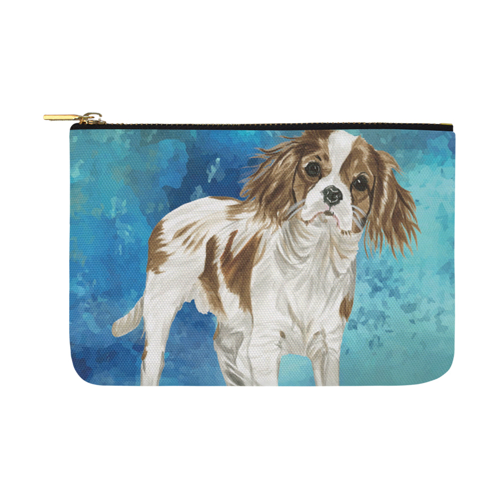 Cavalier King Charles Spaniel Water Colour No.1 Carry-All Pouch 12.5x8.5 - TeeAmazing