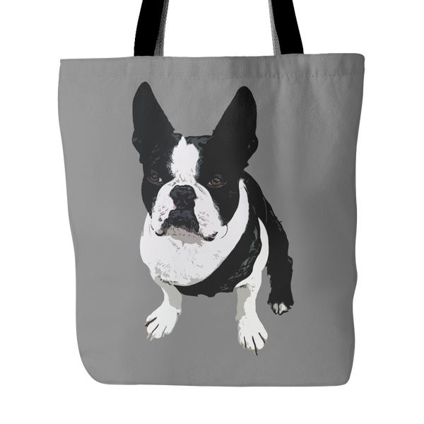 Boston Terrier Dog Tote Bags - Boston Terrier Bags - TeeAmazing - 2