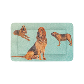 "Bloodhound Lover Dog Beds 42""x26"" - TeeAmazing"