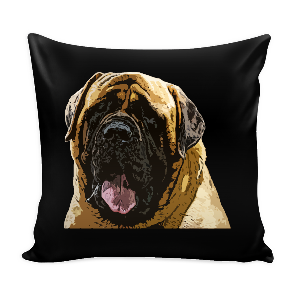 English Mastiff Dog Pillow Cover - English Mastiff Accessories - TeeAmazing