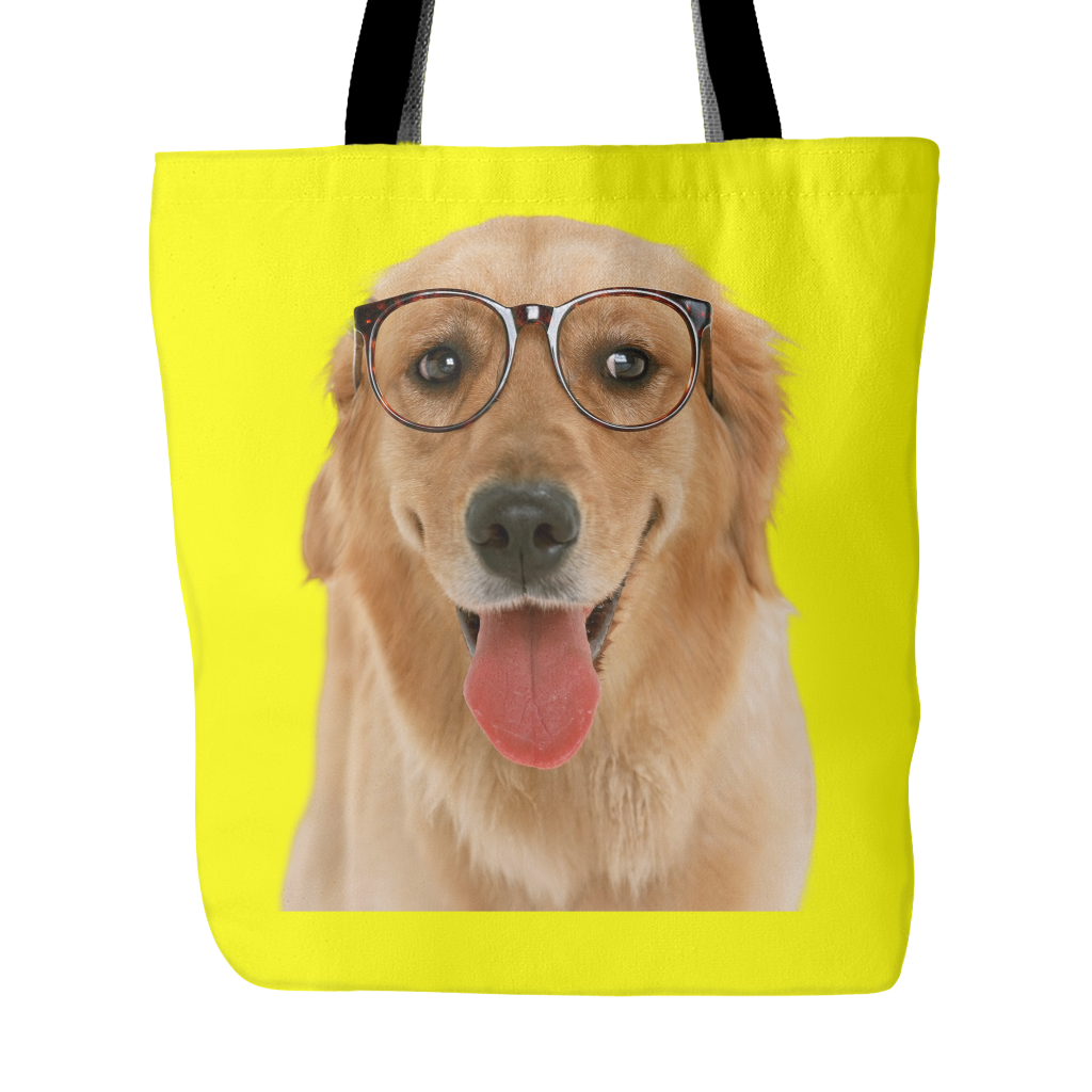 Golden Retriever Dog Tote Bags - Golden Retriever Bags - TeeAmazing