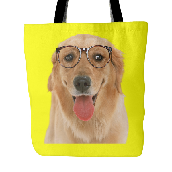 Golden Retriever Dog Tote Bags - Golden Retriever Bags - TeeAmazing - 3
