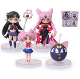 4Styles Can Choose Sailor Moon Figures With Box - TeeAmazing