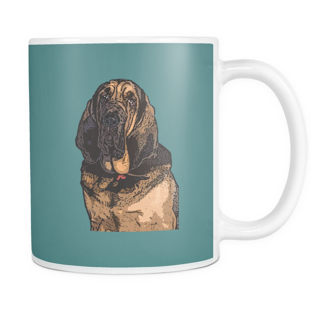 Bloodhound Dog Mugs & Coffee Cups - Bloodhound Coffee Mugs - TeeAmazing