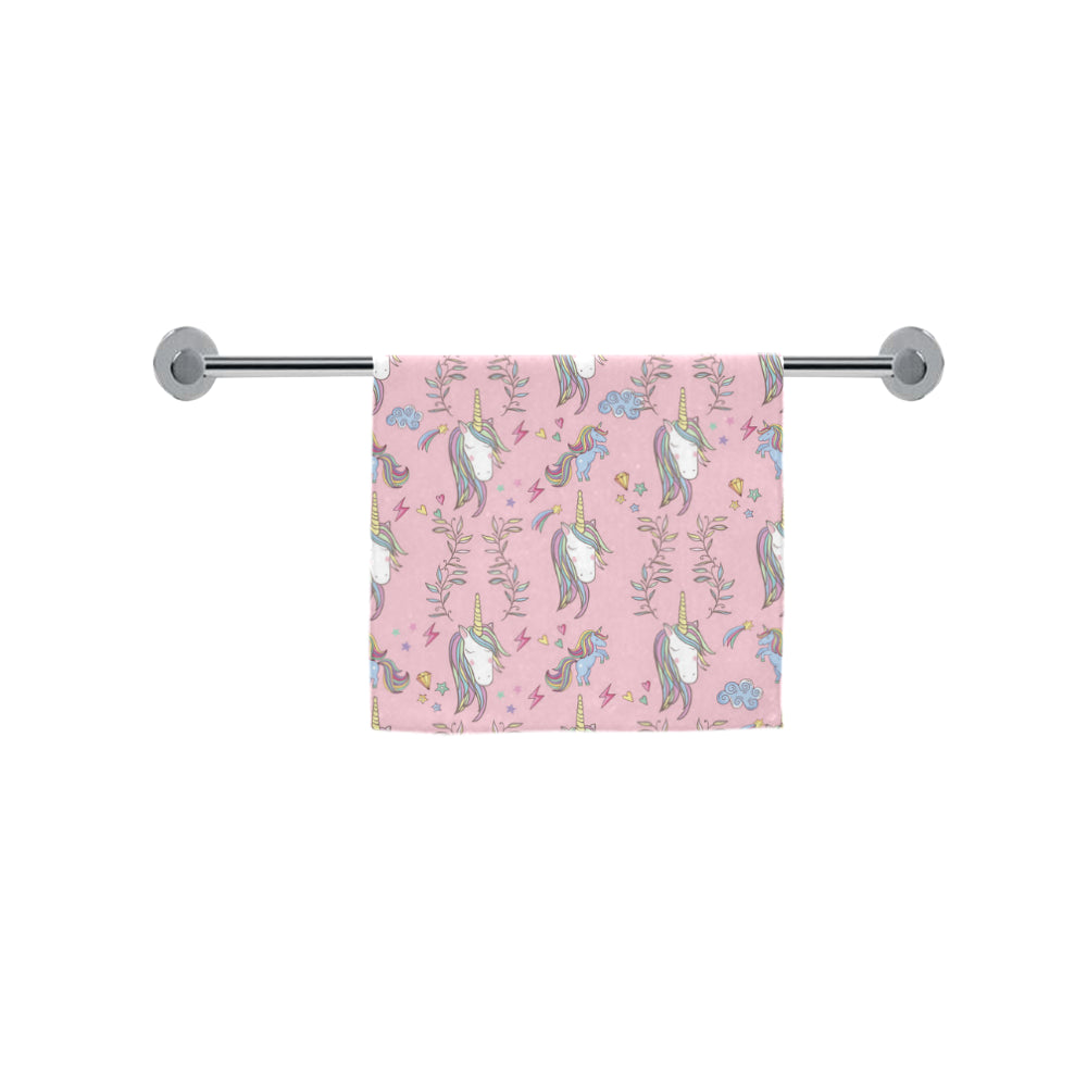 "Unicorn Pattern V2 Custom Towel 16""x28"" - TeeAmazing"