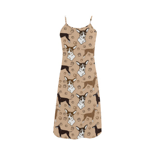 Manchester Terrier Alcestis Slip Dress - TeeAmazing