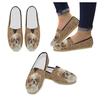Maltese Shih Tzu Dog Women's Casual Shoes - TeeAmazing