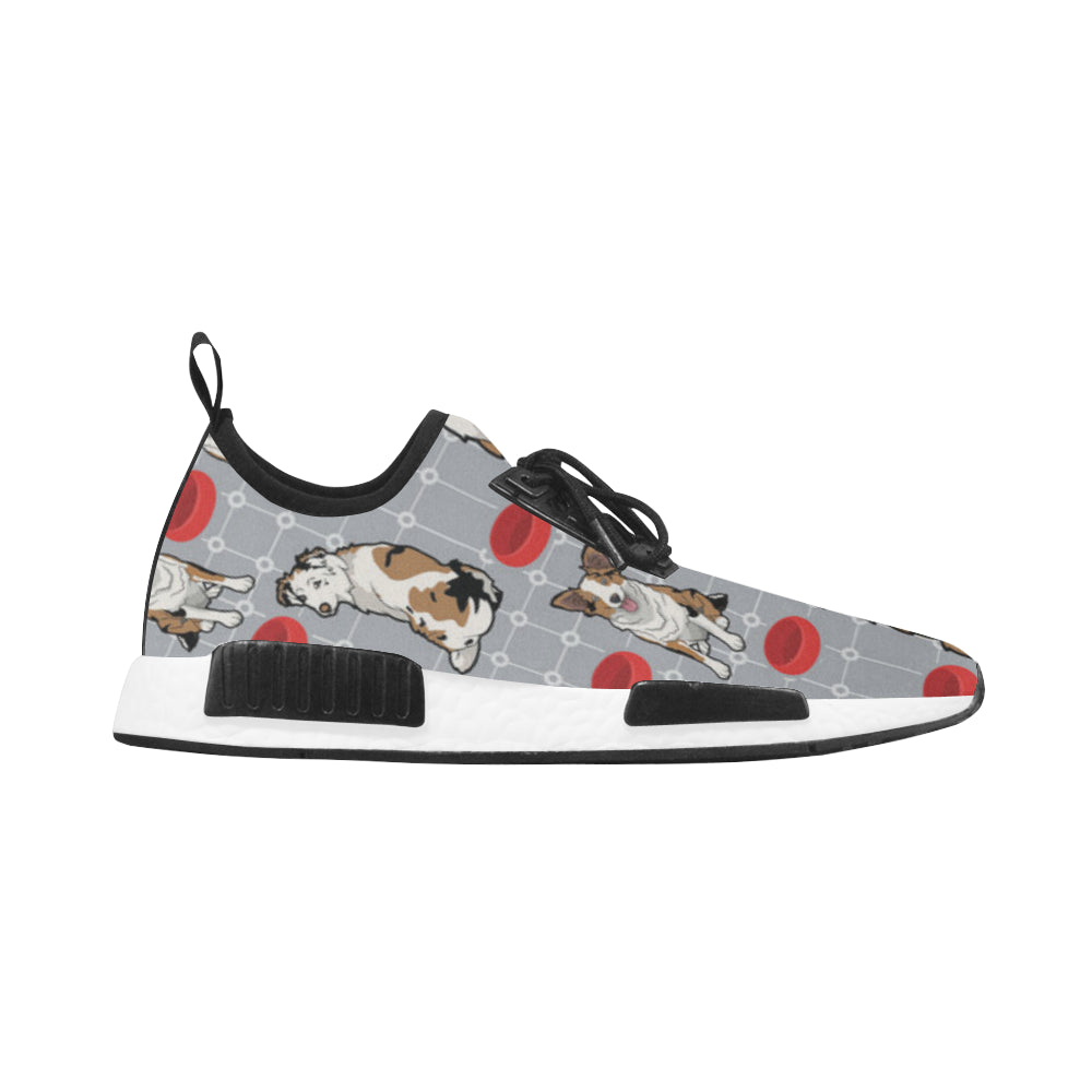 Australian shepherd Pattern Men's Draco Running Shoes - TeeAmazing