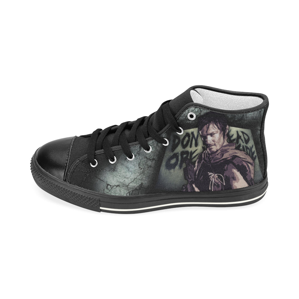 Daryl Dixon Shoes & Sneakers - Custom The Walking Dead Canvas Shoes D1330032