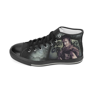 Daryl Dixon Shoes & Sneakers - Custom The Walking Dead Canvas Shoes - TeeAmazing