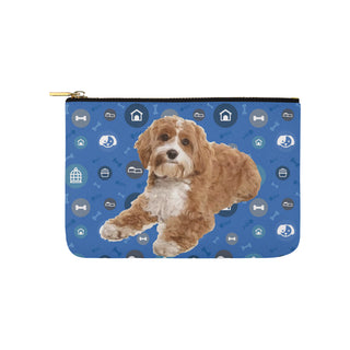 Cavapoo Dog Carry-All Pouch 9.5''x6'' - TeeAmazing