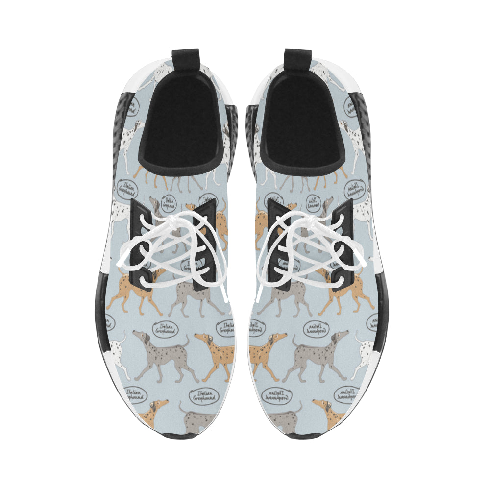 Italian Greyhound Pattern Men's Draco Running Shoes - TeeAmazing