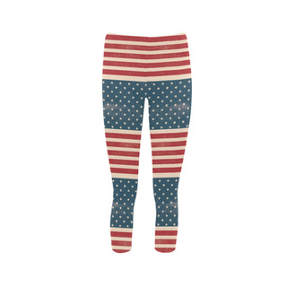 4th July V2 Capri Legging - TeeAmazing