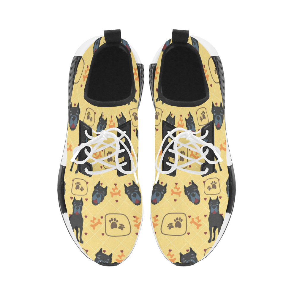 Cane Corso Pattern Men's Draco Running Shoes - TeeAmazing