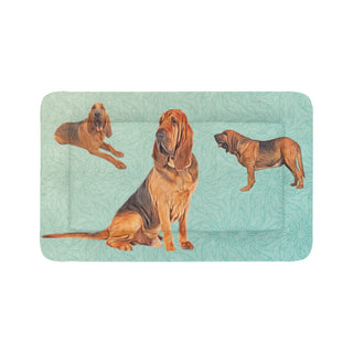 "Bloodhound Lover Dog Beds 48""x30"" - TeeAmazing"