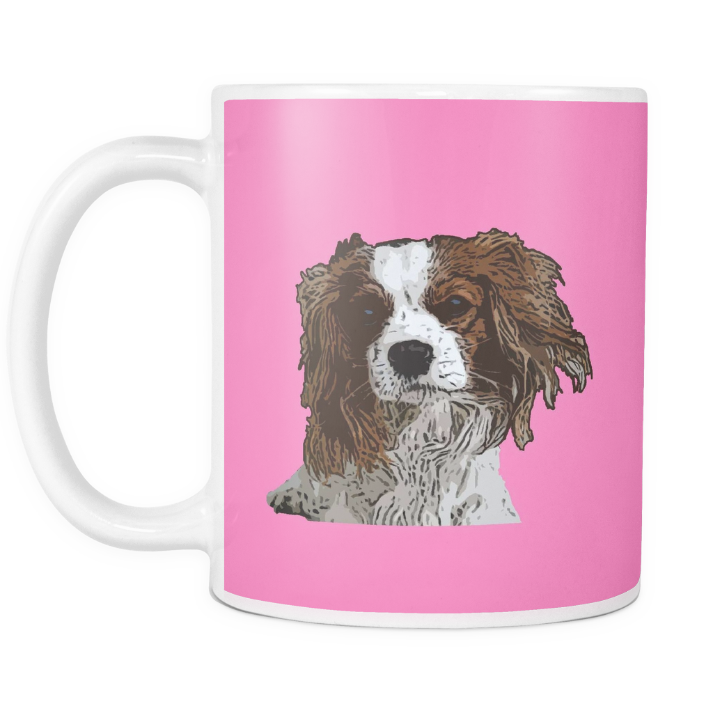 Cavalier King Charles Spaniel Dog Mugs & Coffee Cups - Cavalier King Charles Spaniel Coffee Mugs - TeeAmazing - 8