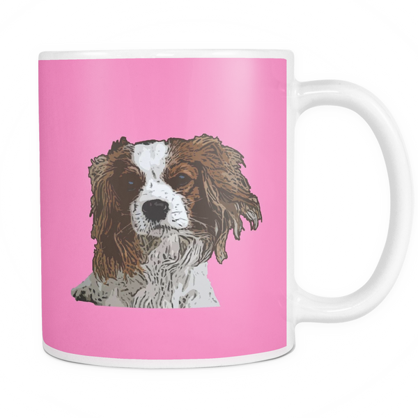 Cavalier King Charles Spaniel Dog Mugs & Coffee Cups - Cavalier King Charles Spaniel Coffee Mugs - TeeAmazing - 7
