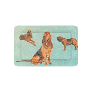"Bloodhound Lover Dog Beds 36""x23"" - TeeAmazing"