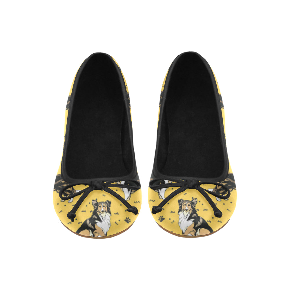Collie Juno Ballet Pumps - TeeAmazing